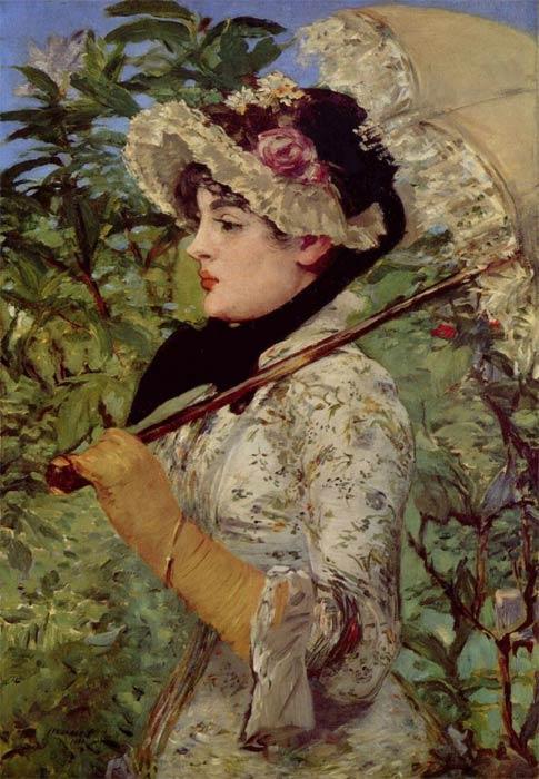 Эдуард Мане. Весна (Жанна). 1881