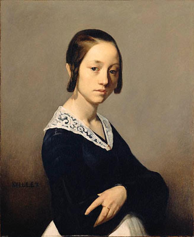 Жан-Франсуа Милле. Луиза-Антуанетта Феарден. 1841