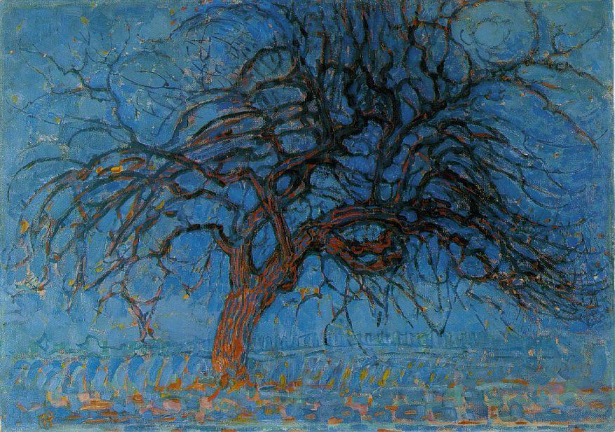 Пит Мондриан. Красное дерево