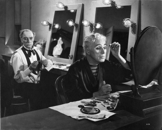 Чарли Чаплин и Бастер Китон. Огни рампы. 1952