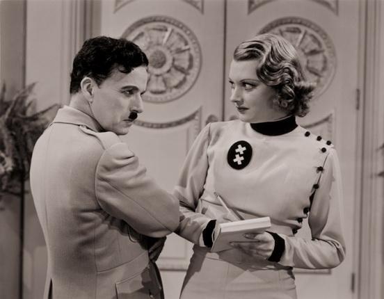 Чарли Чаплин. Великий диктатор. 1940