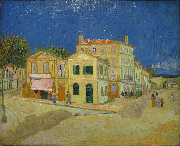 Винсент ван Гог. Желтый дом. 1888