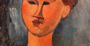 Амедео Модильяни. Голова молодой женщины. 1915