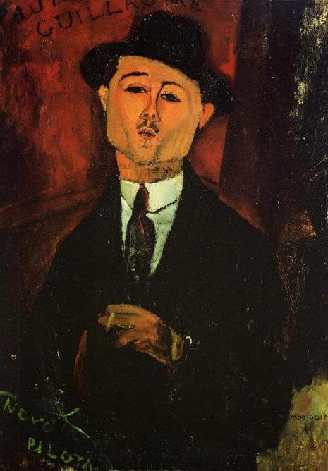 Амедео Модильяни. Поль Гийом. 1915