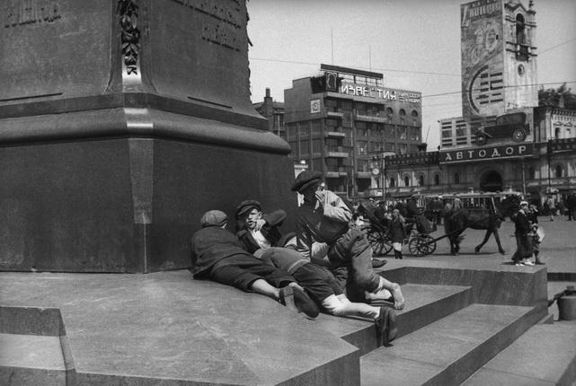 Михаил Прехнер. Из серии Пушкинская площадь. Москва, 1932-1935