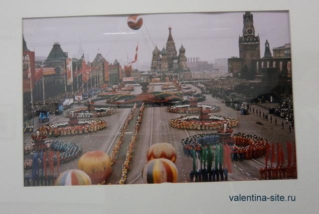 Спортивный парад на Красной площади. Москва, 1959