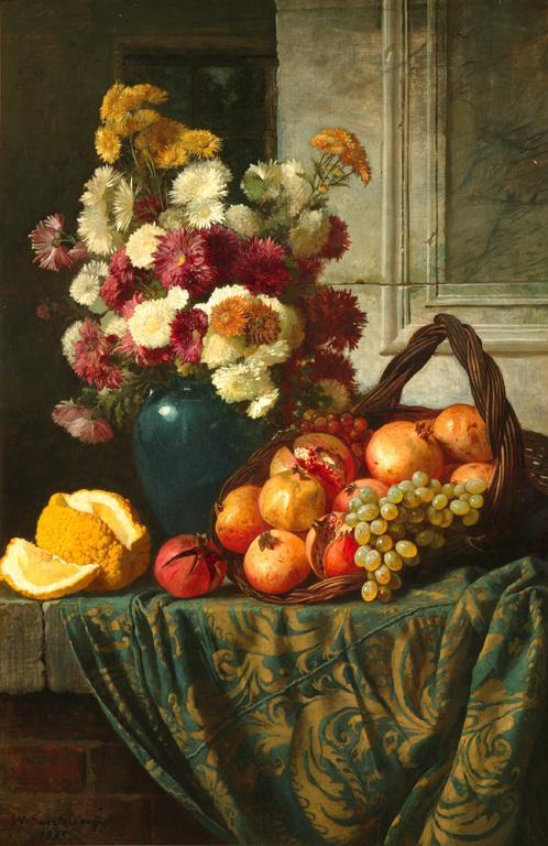 Сверчков В.Д. Цветы и фрукты. 1885