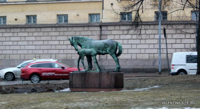 Хельсинки. Лошадки