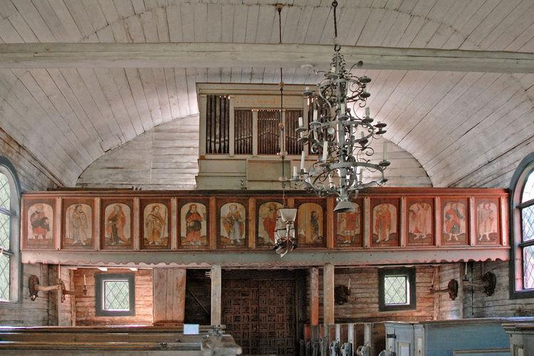 Церковь на острове Сеурасаари