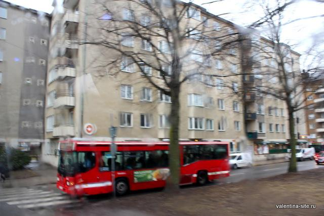 На улицах Стокгольма
