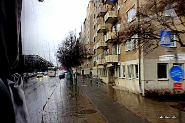 Стокгольм, дождь
