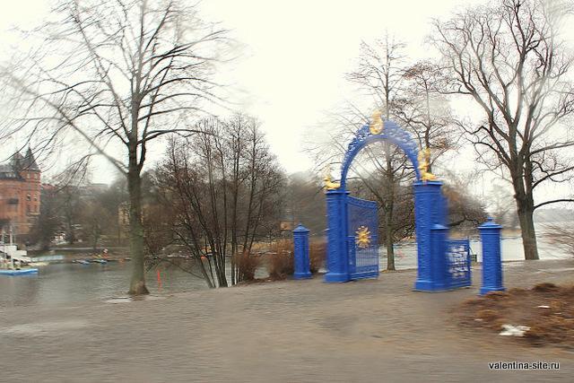 Стокгольм, парк на острове Юргорден