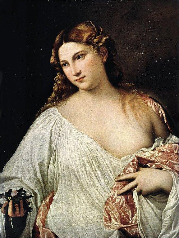Флора 1515. Флоренция Галерея Уффици