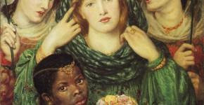 Данте Габриэль Россетти. Невеста. 1865-1866