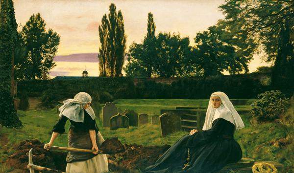 Джон Эверетт Миллес. Долина покоя. 1858-1859