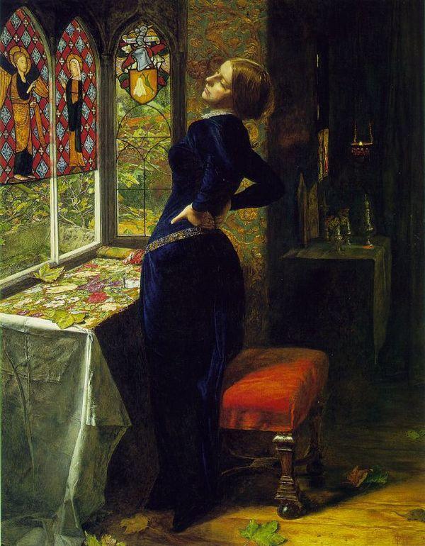 Джон Эверетт Миллес. Мариана. 1851