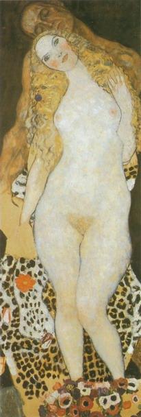 Густав Климт. Адам и Ева 1917