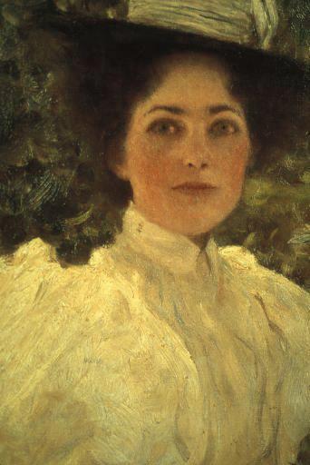 Густав Климт. Девушка в зеленом 1896