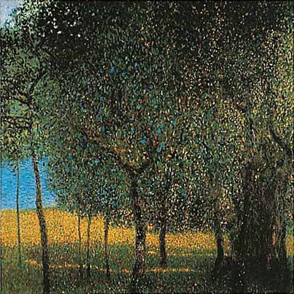 Густав Климт. Фруктовые деревья 1901