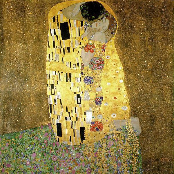 Густав Климт. Поцелуй 1908 Кульминация Золотого периода
