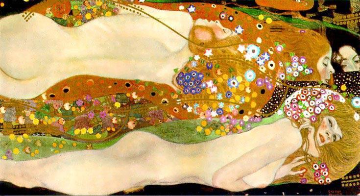 Густав Климт. Водяные змеи 1904-1907
