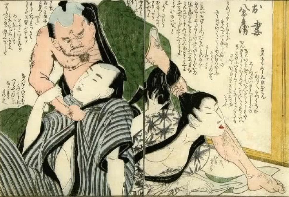 Сюнга - японская эротическая гравюра