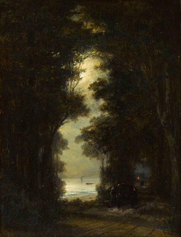А.П.Боголюбов (1824-1896). Дорога вдоль берега Зунда