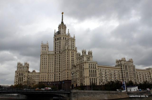 Прогулка по Москве-реке