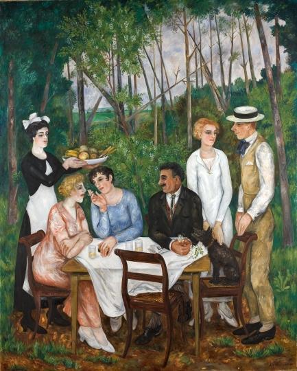 Завтрак. 1924