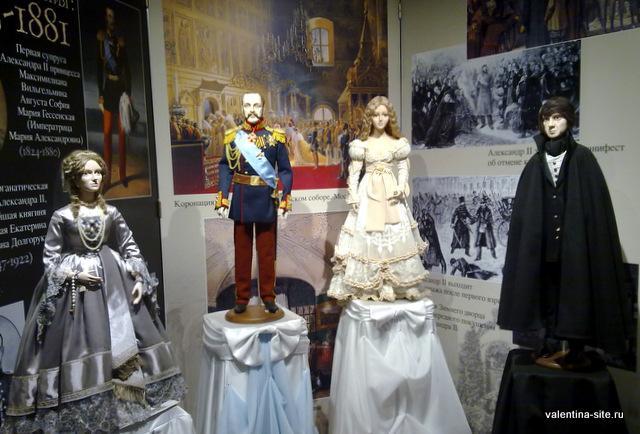 Русские монархи. Из Галереи Анастасии Чижовой