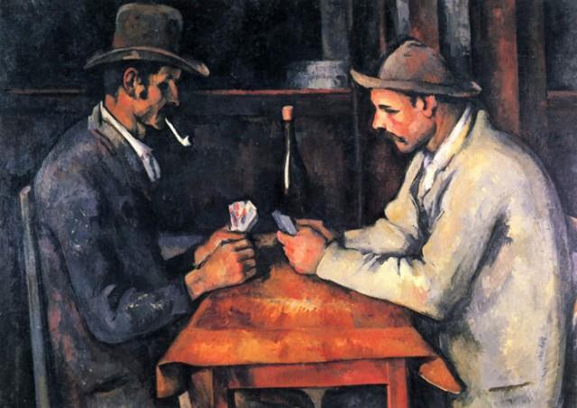 Поль Сезанн. Игроки в карты. 1890-1892