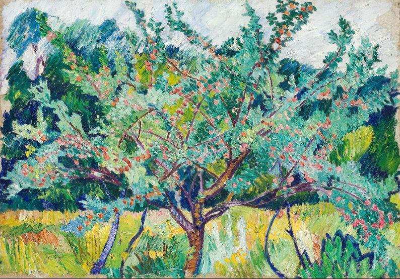 Фруктовый сад. 1908-1909