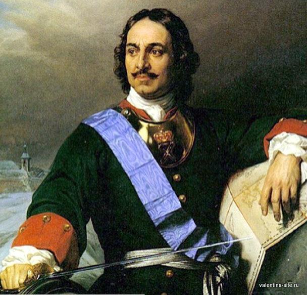 Поль Деларош. Петр Великий. 1838