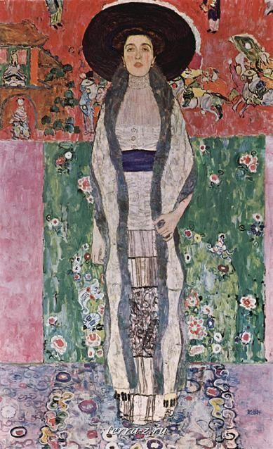 Климт. Портрет Адели Блох-Бауэр II. 1912
