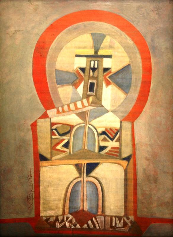 Михаил Шварцман «Тайный смысл» 1972