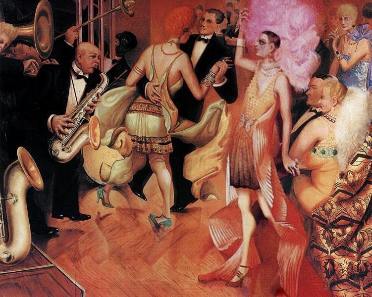 Большой город. 1927-28. Часть триптиха