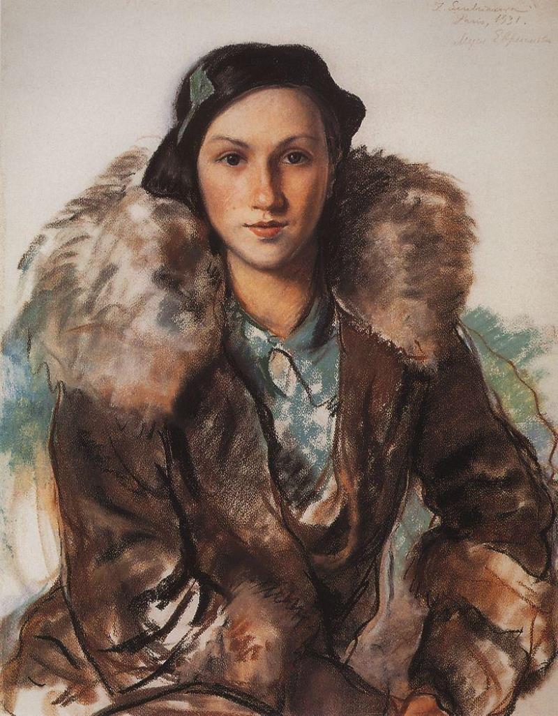 Муся Бутакова-Евреинова. 1931