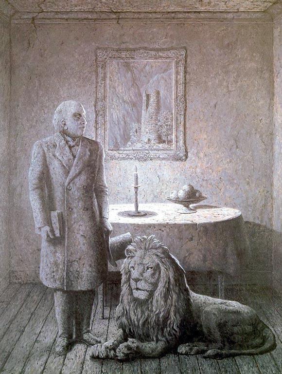Память о путешествии (Ностальгия II). 1955