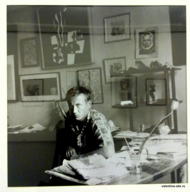 Хьюберт Маршалл. Евгений Евтушенко. 1977