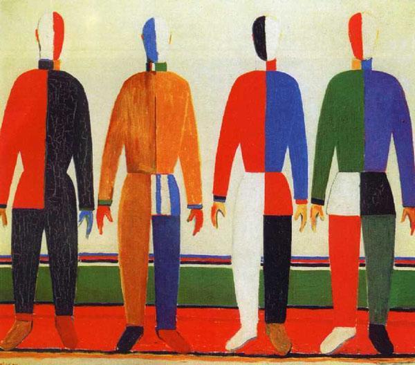 Спортсмены. 1931