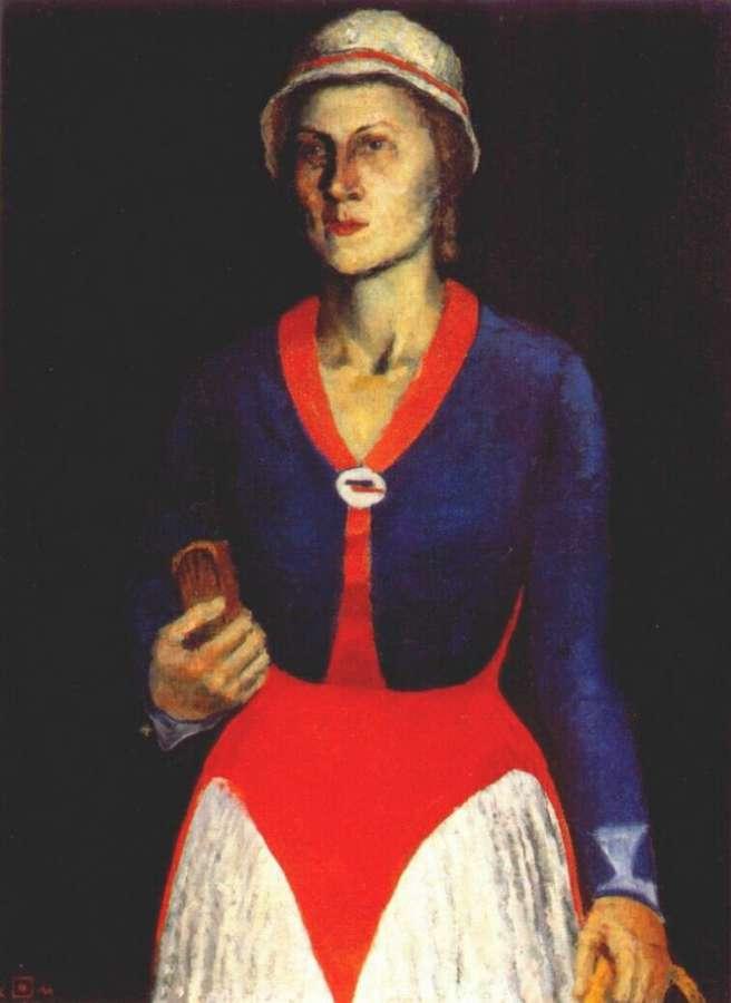 Портерт жены художника. 1934