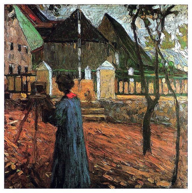 Калльмюнц. Габриэла Мюнтер. Живопись II. 1903