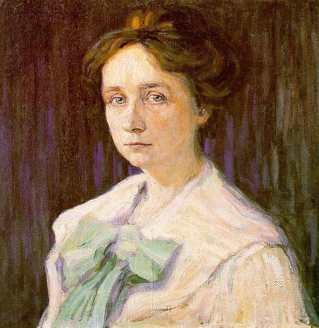 Портрет Габриэлы Мюнтер. 1905