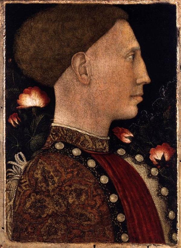 Пизанелло. Портрет герцога Лионелло Д'Эсте. 1444