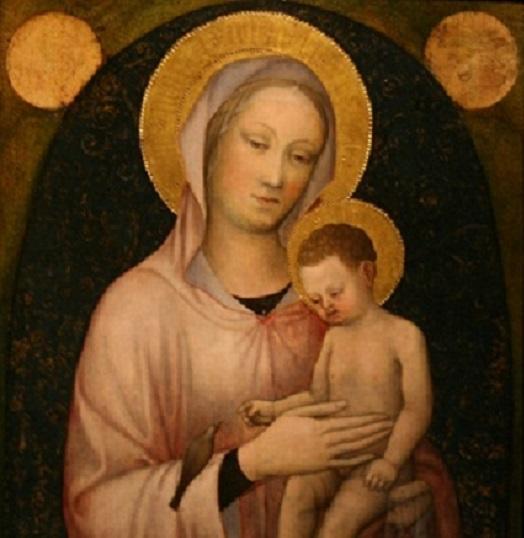 Якопо Беллини. Мадонна с младенцем. Около 1440