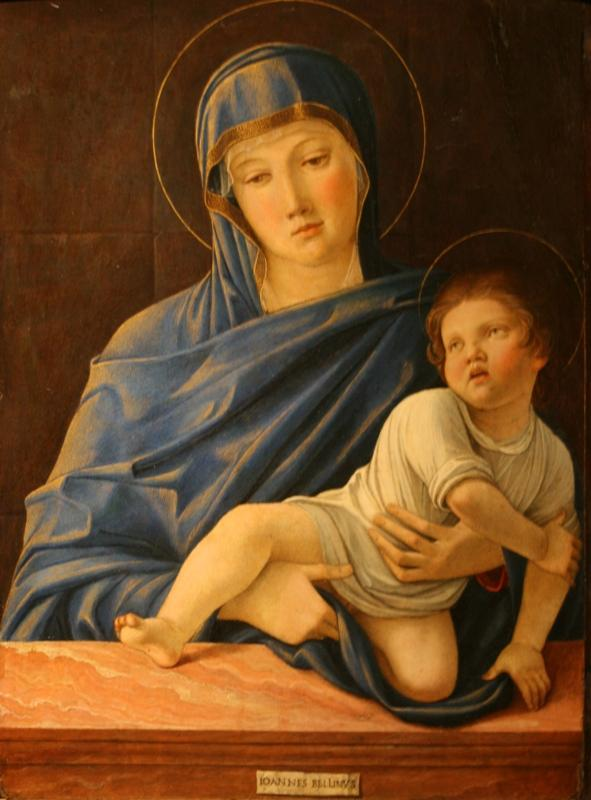 Джованни Беллини. Мадонна с Младенцем. Около 1476