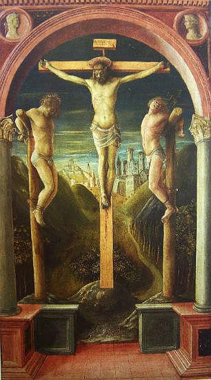 Винченцо Фоппа. Три креста. Около 1450г.