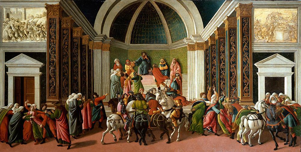 Боттичелли. История Виргинии. Около 1500