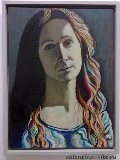 Портрет Анны Мишиной-Васьковой. 2014