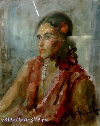 Артур Фонвизин. Пьяная римлянка. 1949